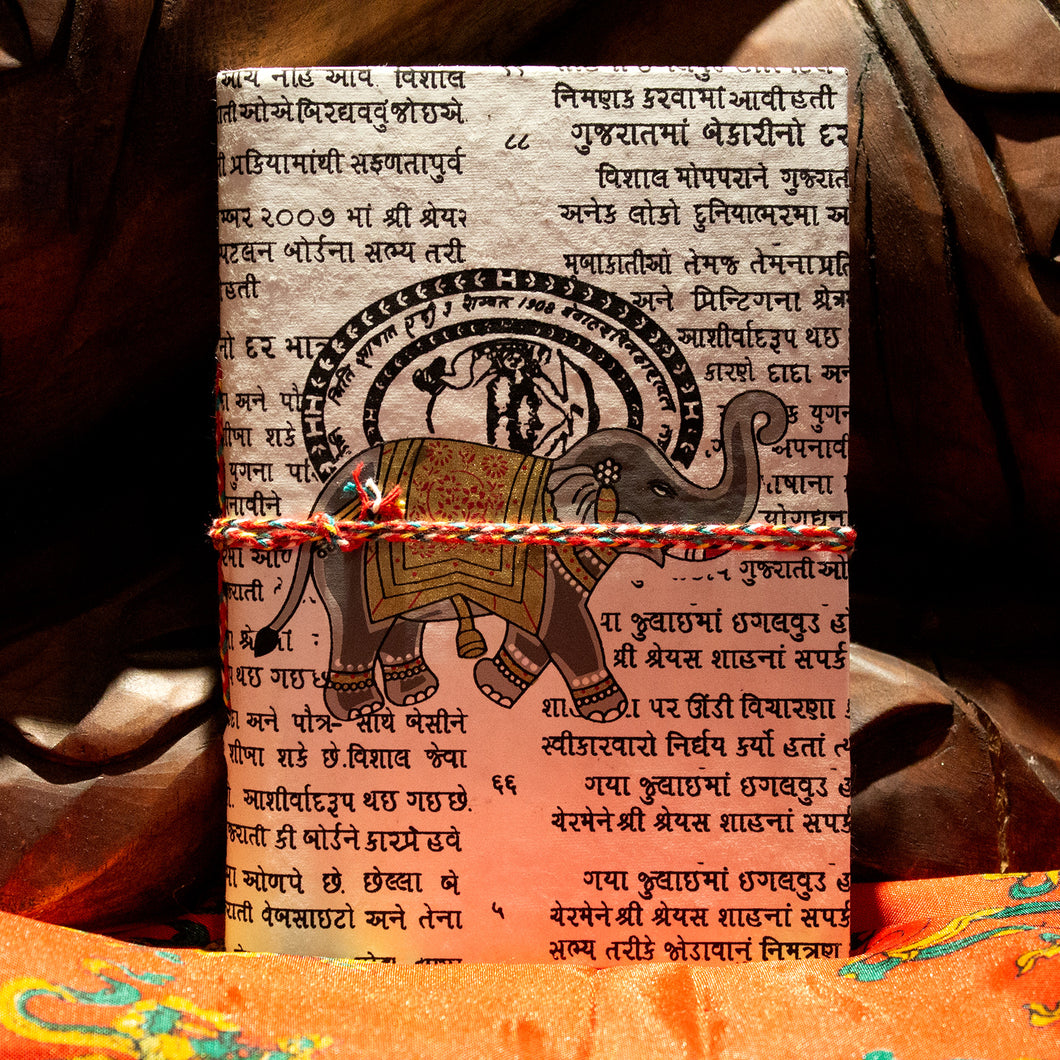 Handmade Cotton Journals from India