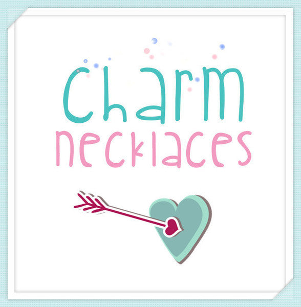 Handcut Charm Necklaces