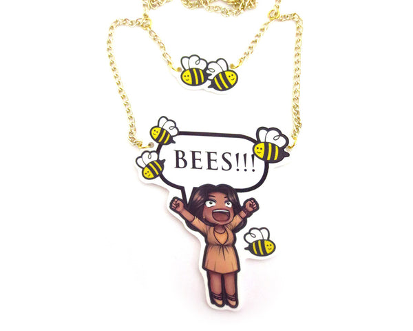 BEES!!! Necklace