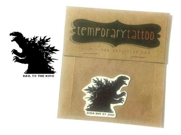 Godzilla Temporary Tattoo