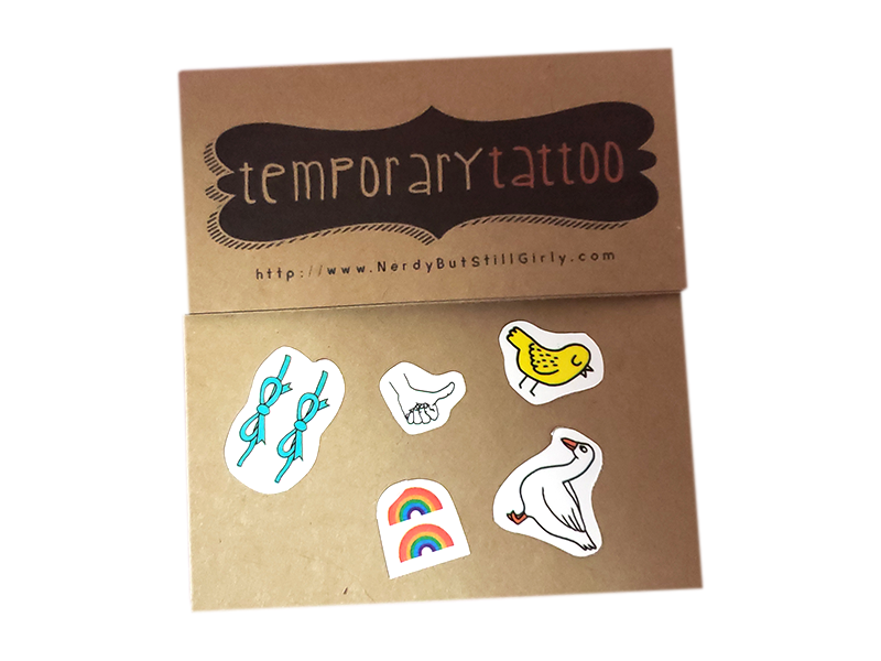 Misc Tiny Temporary Tattoo