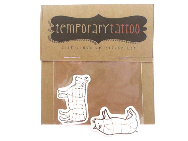Carnivor Temporary Tattoo