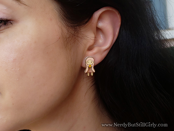 Chobits (Bunny) Inspired Cling Earrings