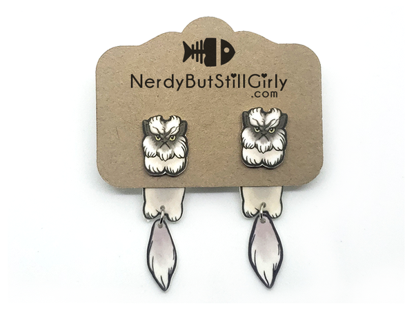 Cat Himalayan-Persian (The Colonel) Cling Earring