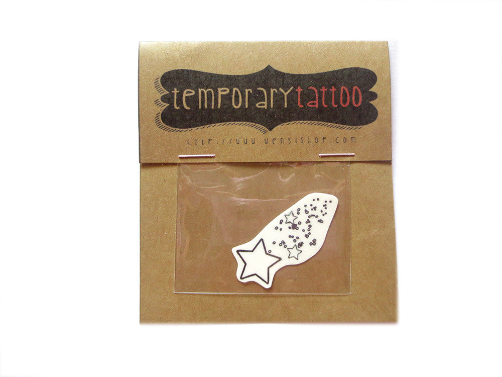 Shooting Star Temporary Tattoo