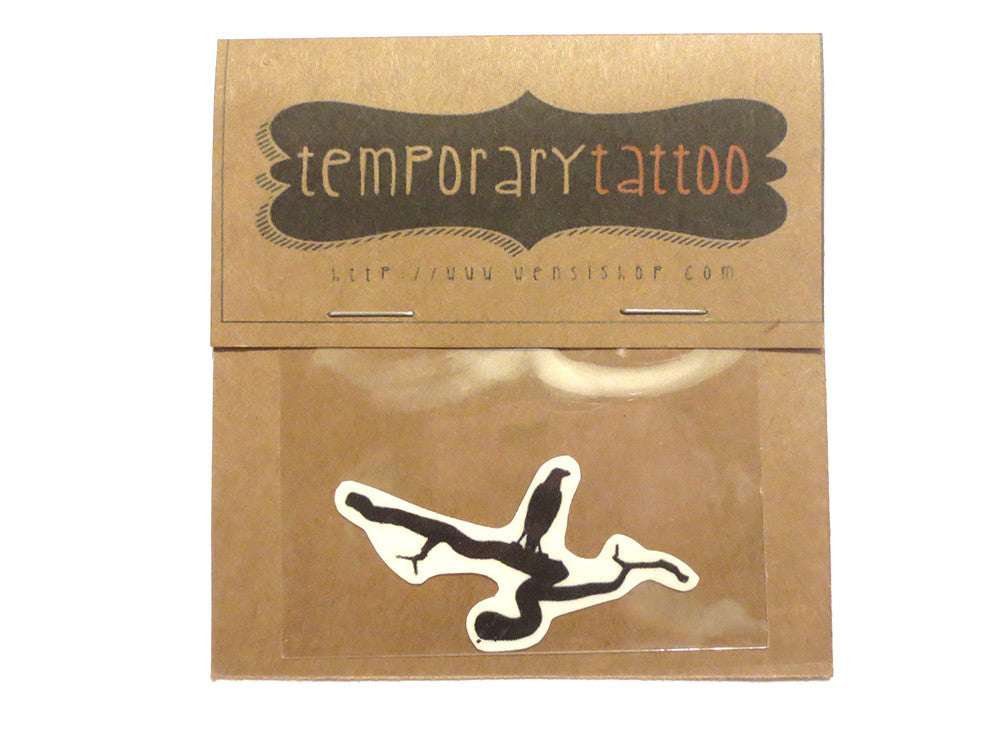 The Raven Temporary Tattoo