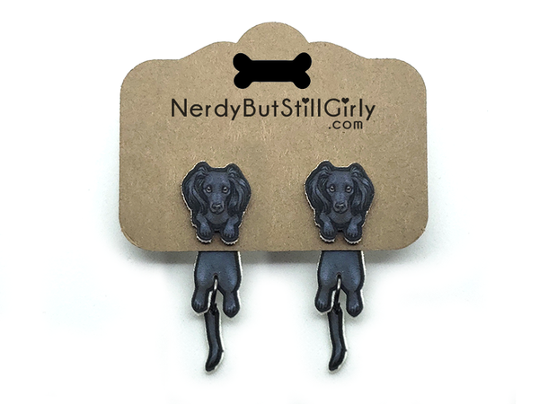Dog (Dachshund Rory) Cling Earring