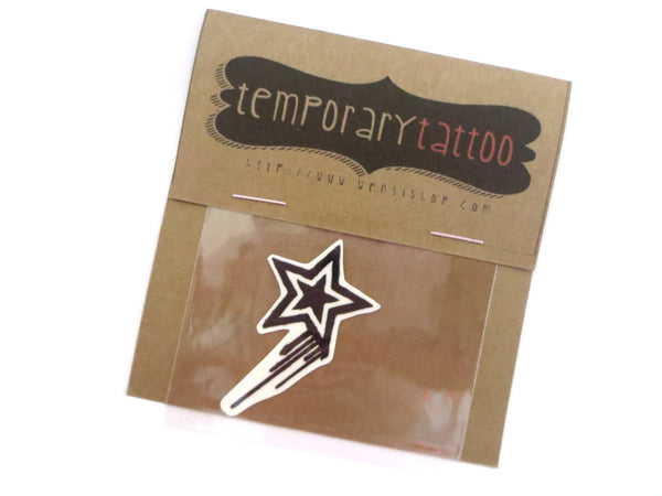Bleeding Rockstar Temporary Tattoo