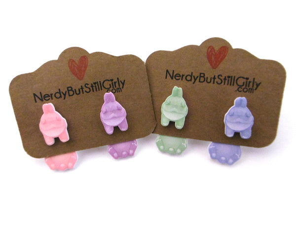 Jelly Bunnies Cling Earrings