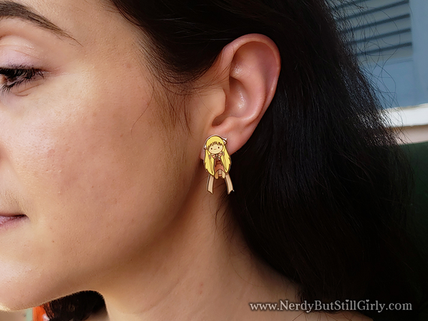 Chobits (Chi) Inspired Cling Earrings
