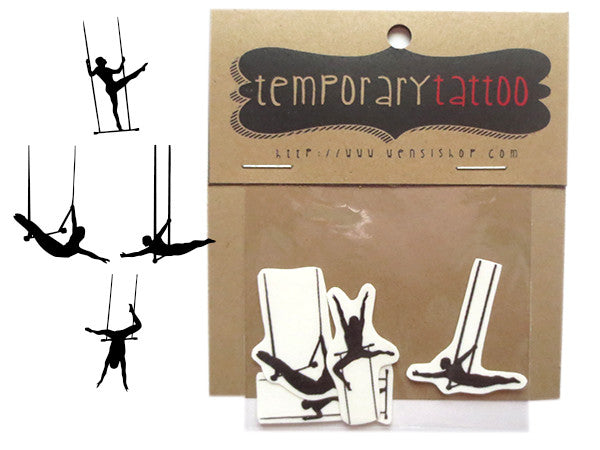 Trapeze Temporary Tattoo