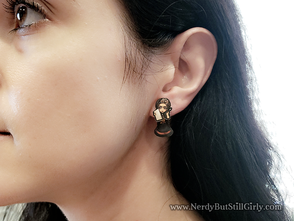 Frida Kahlo Cling Earring
