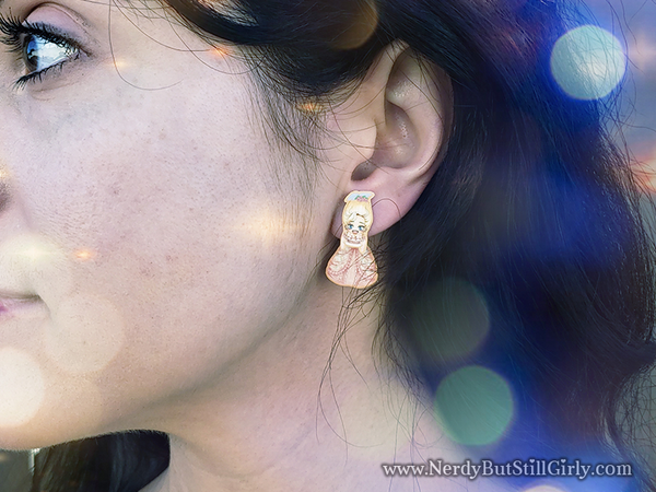 Marie Antoinette Cling Earrings