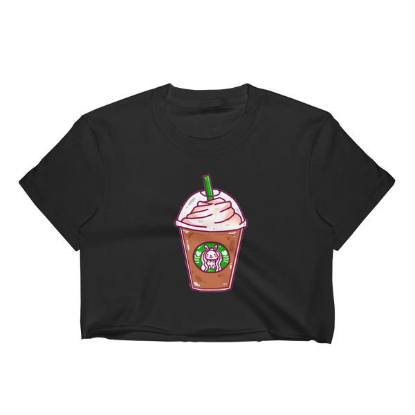 Frappuccino Bunny Crop Top