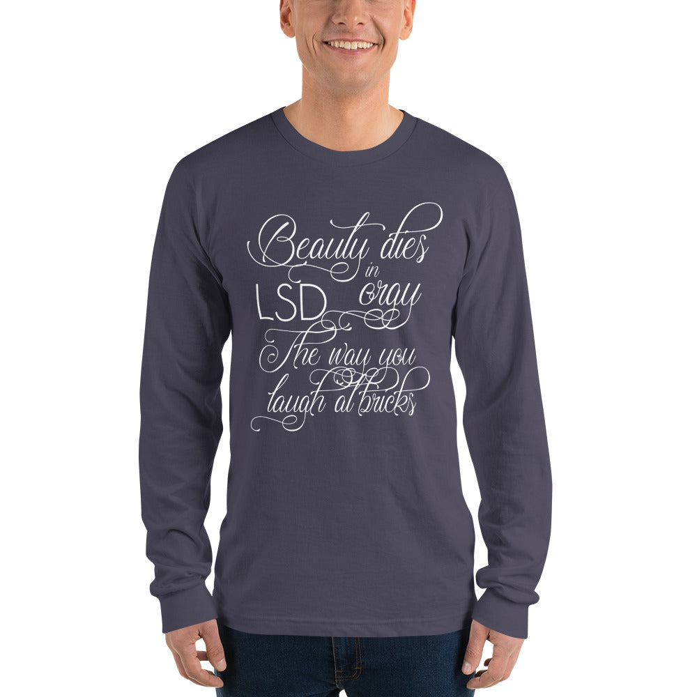 Bad Engrish (LSD Orgy) Long sleeve t-shirt