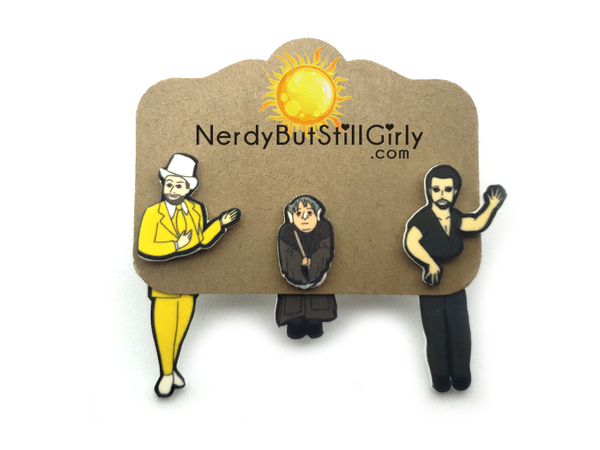 Nightman Cometh Cling Earrings