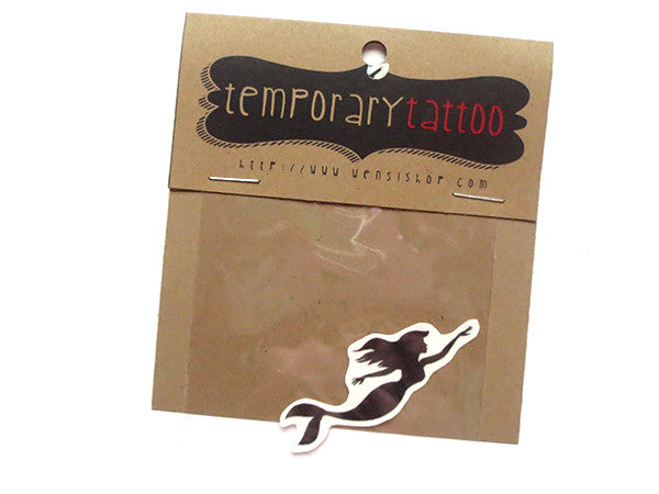 Part Of Your World Temporary Tattoo