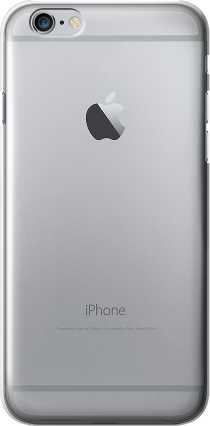 IPHONE 6 PLUS SILICONE TRASPARENTE