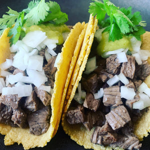 NEW ENTRY - Bistec estilo Monterrey- marinated beef stake (menu suggest it for 3/4 pax, 10/12 tacos aprox.)