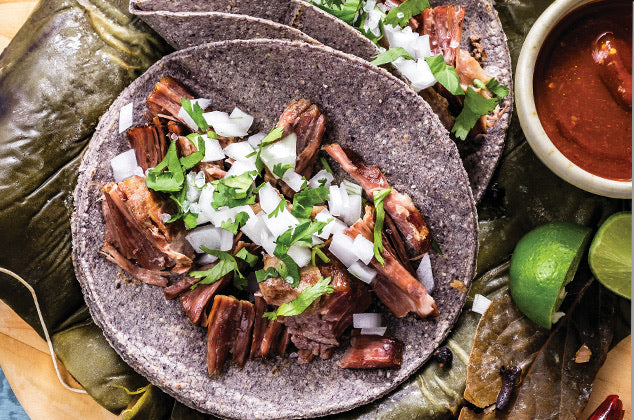 La Barbacoa - Slow Cook Lamb (menu for 3/4 pax, 10/12 tacos aprox.)