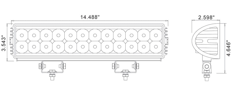 P3090 Light Bar