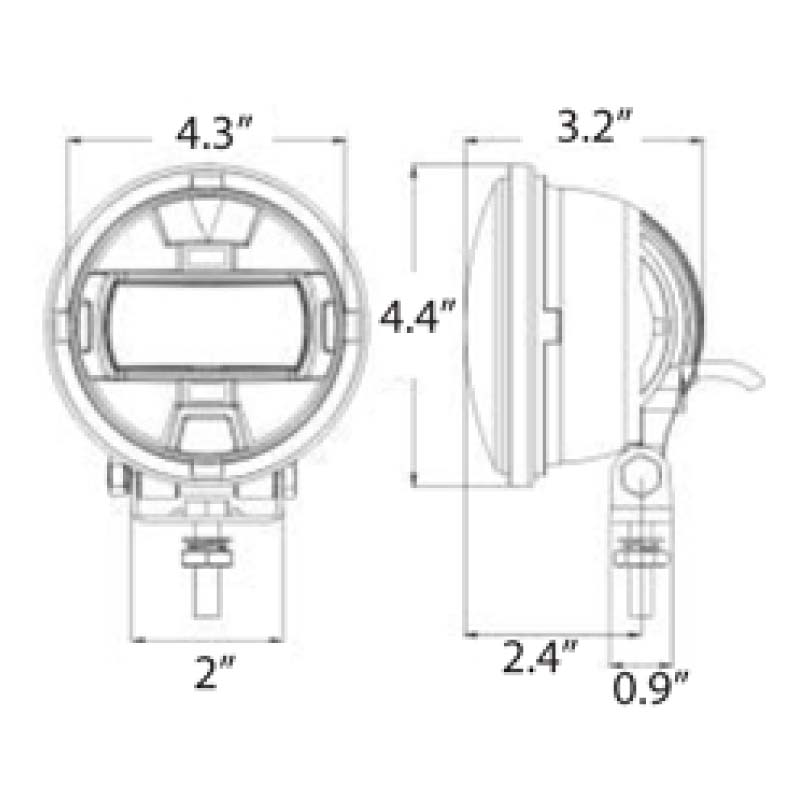 P9900 Forklift Zone Light