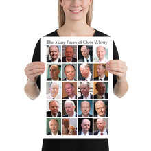 Load image into Gallery viewer, The Many Faces of Chris Whitty - Poster - A3