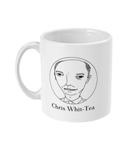 Load image into Gallery viewer, Chris Whit-Tea Mug - The Chris Whitty Appreciation Society