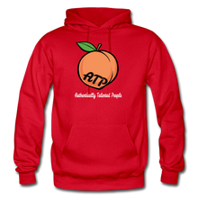 Load image into Gallery viewer, Adult Peach Hoodie - red