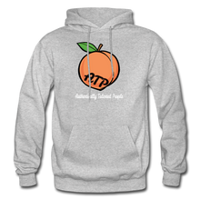 Load image into Gallery viewer, Adult Peach Hoodie - heather gray
