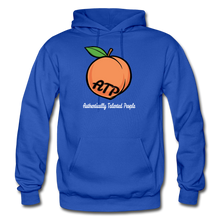 Load image into Gallery viewer, Adult Peach Hoodie - royal blue