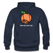 Load image into Gallery viewer, Adult Peach Hoodie - navy