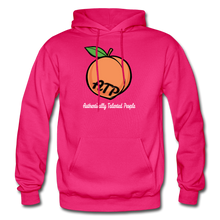Load image into Gallery viewer, Adult Peach Hoodie - fuchsia