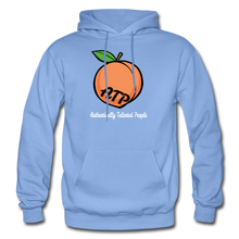 Load image into Gallery viewer, Adult Peach Hoodie - carolina blue