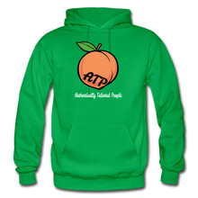 Load image into Gallery viewer, Adult Peach Hoodie - kelly green