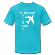 Load image into Gallery viewer, ATP Plane T-Shirt - turquoise