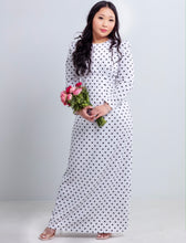 Load image into Gallery viewer, Vintage Polka Dot Maxi