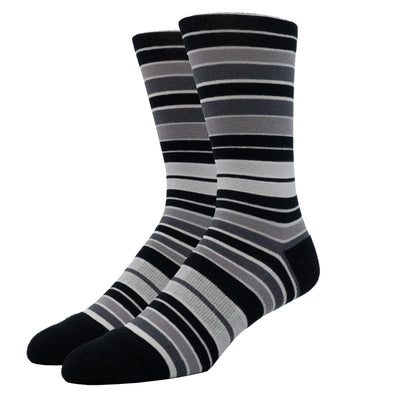 MEN'S SILVER CREW SOCKS | SHADES OF GREY