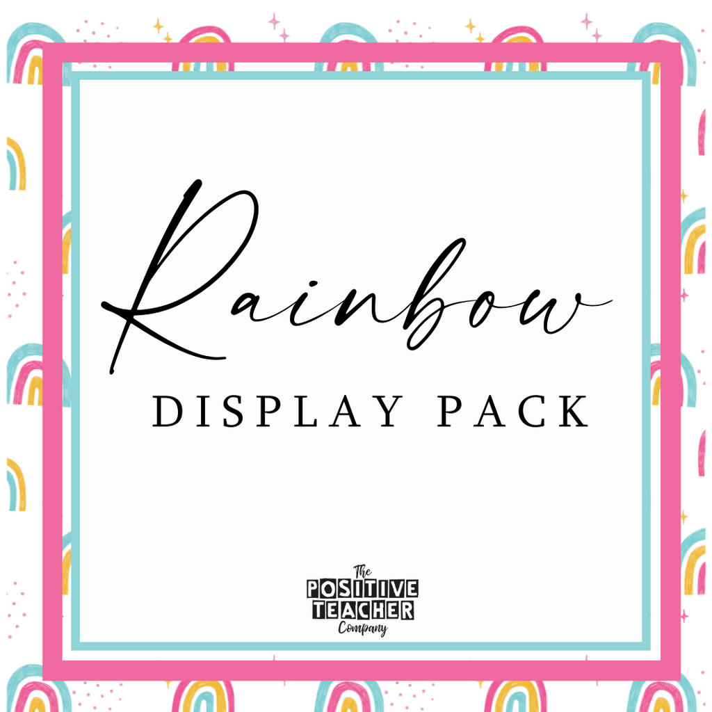 Rainbow Display Pack