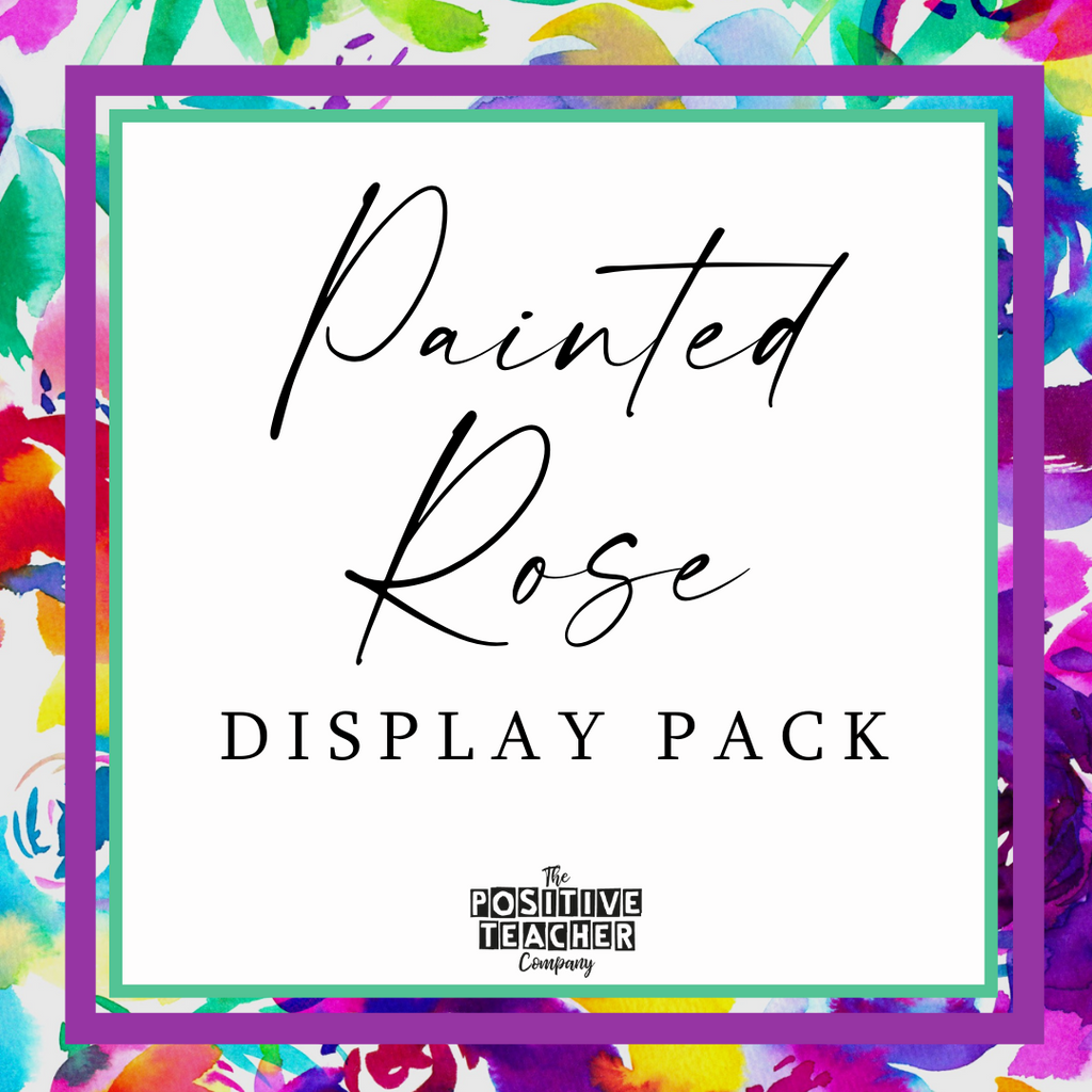 Painted Rose Display Pack