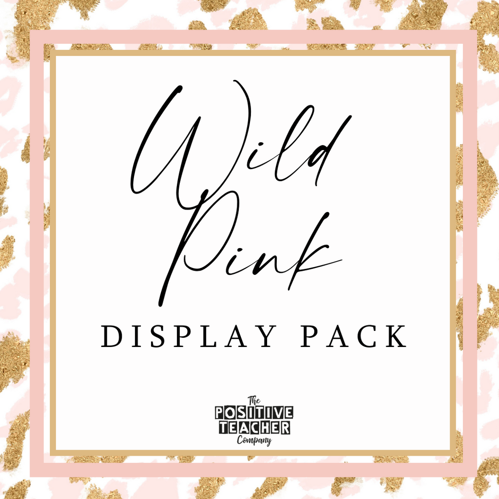 Wild Pink Display Pack