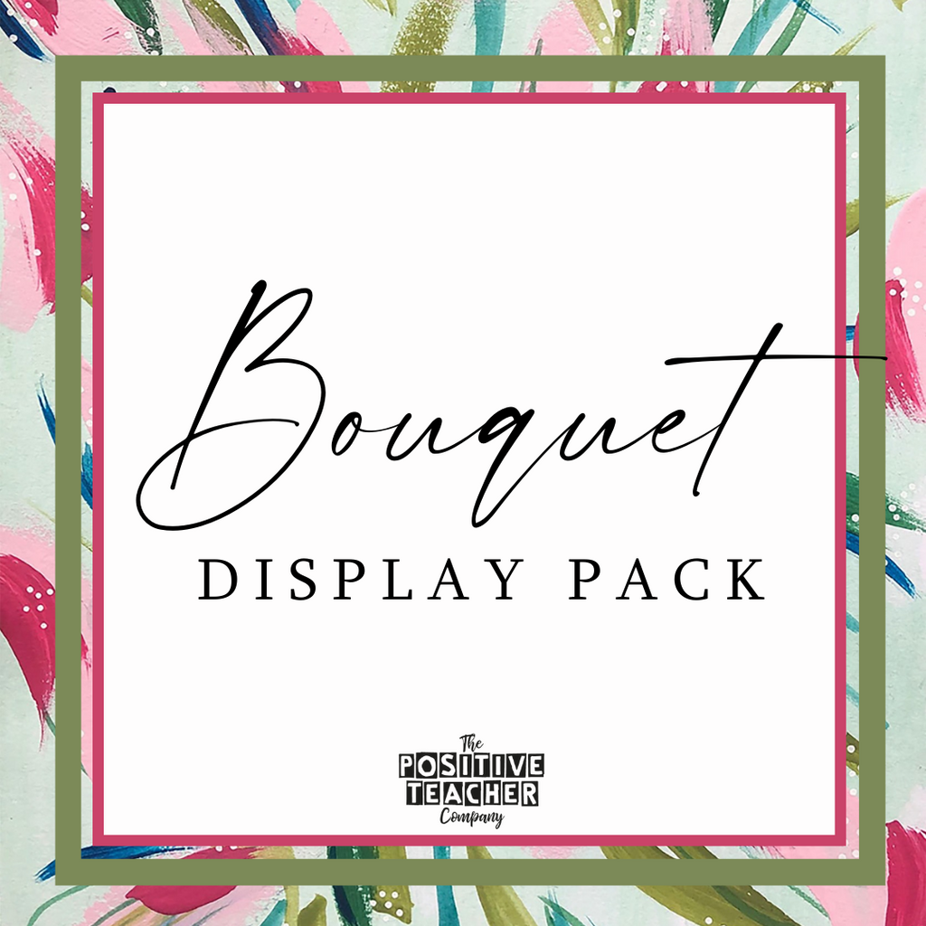 Bouquet Display Pack