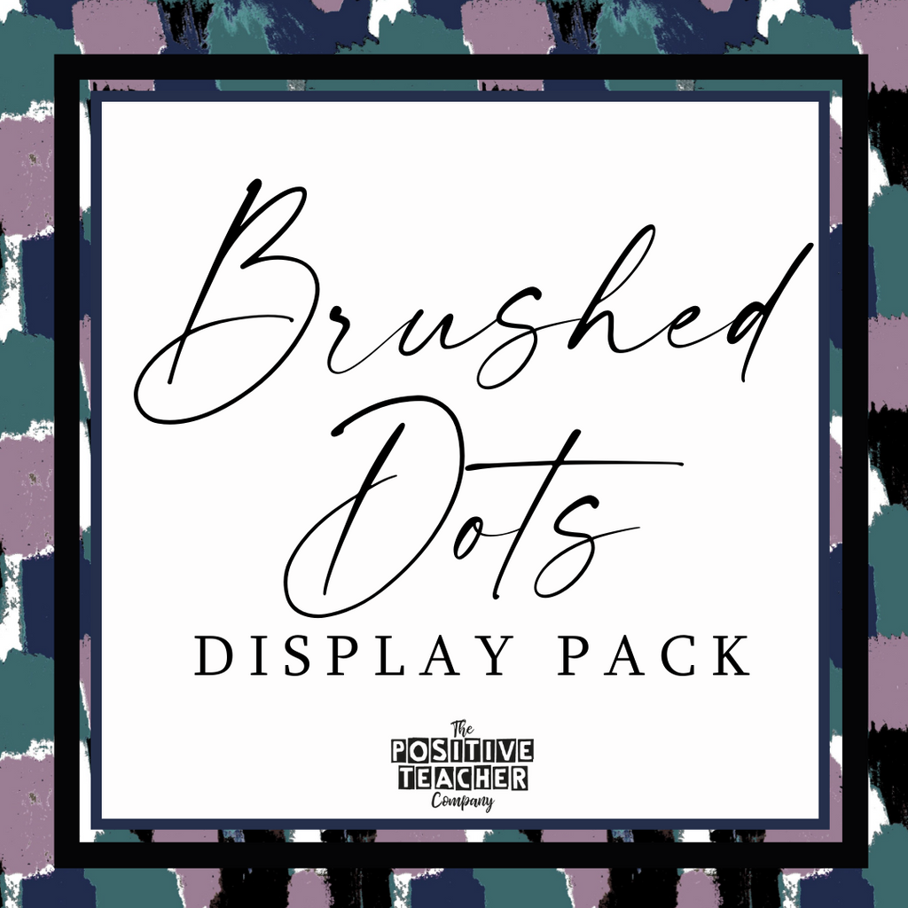 Brushed Dots Display Pack