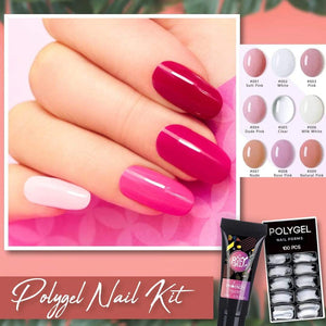 HOME SALON ™ - KIT MAÎTRE À ONGLES EN POLYGEL