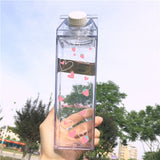 Milk Carton Kawaii Sweet Strawberry Bottle (500ml)