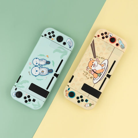Kawaii Shiba/Otter Nintendo Switch case for lite and normal