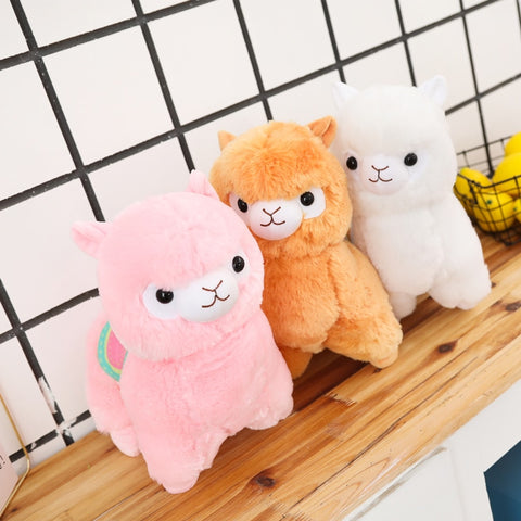 Kawaii Alpaca Stuffed Plushie