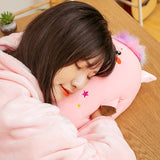 Kawaii Pig Plush Toy 3 in 1 Hand Warmer