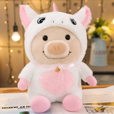 Kawaii Pig Dress Up Plush