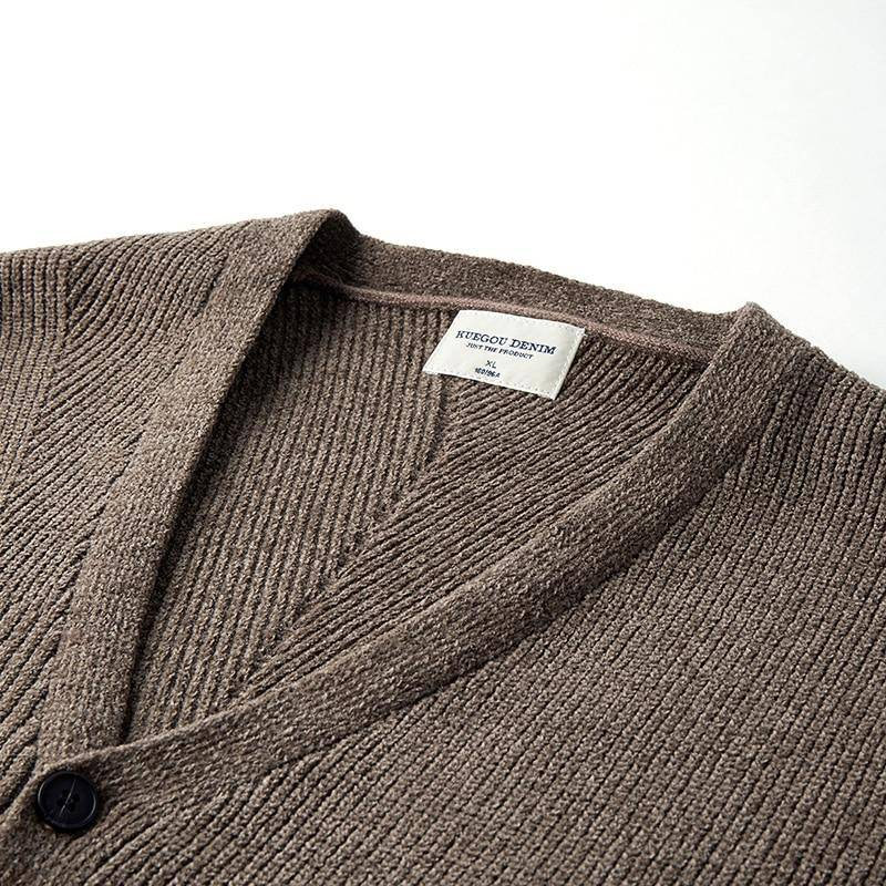 Silent Avalanche Knitted Sweater - moderncaveman